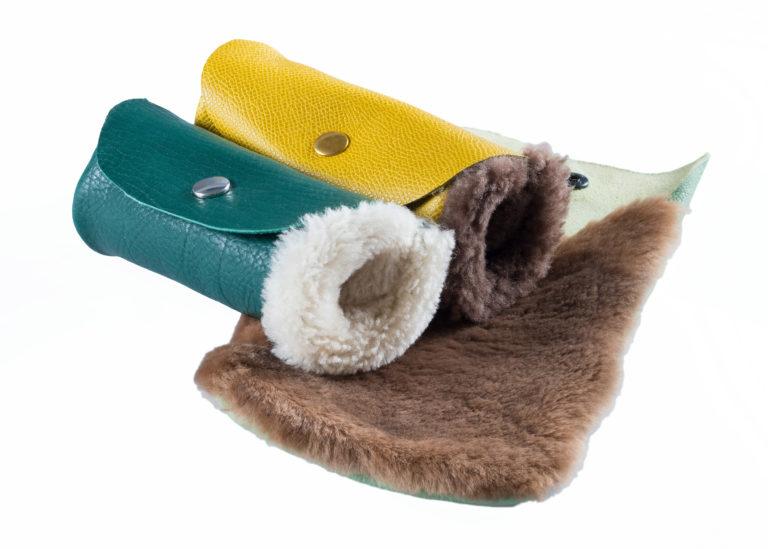 Polier-Lammfell-Handschuhe
